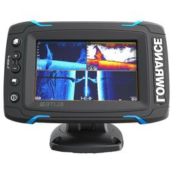 LOWRANCE 000-12421-001 Elite-5Ti Mid/High/DownScan Fishfinde