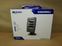 Lowrance 000-12641-001 HOOK-4x Fishfinder w/ HDI Transducer