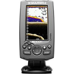 Lowrance 000-12641-001 Hook-4X Sonar W/Mid/Hi/DownScan XDCR