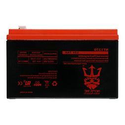 12V 7AH Sealed Lead Acid SLA Battery for Piranha MAX 160 Fis