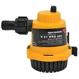 Johnson Pumps of America 22502 Marine Pro-Line 500 GPH Bilge