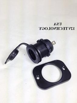 3x Industrail Waterproof Accessory Lighter Socket Power Outl