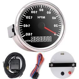 85mm <font><b>GPS</b></font> Black <font><b>Speedometer</b><
