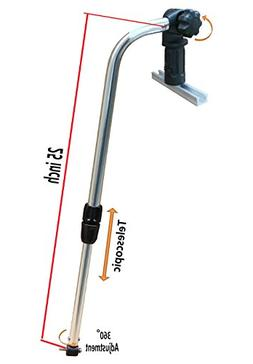 BroCraft Transducer Mounting Arm With Track Adapter