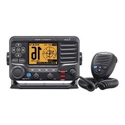 Icom M506 VHF Fixed Mount w-Front Mic AIS & NMEA 0183-2000 -