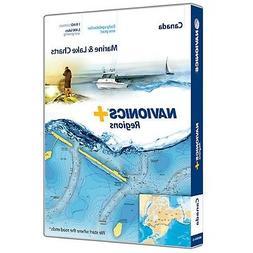 NAVIONICS NAVIONICS+ REG MSD FORMAT CANADA PRELOADED