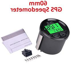 SEARON GPS Speedometer Digital Speed Meter Counter Waterproo