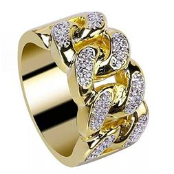 SMALLE ◕‿◕ Clearance,Men and Women Electroplate Gold D