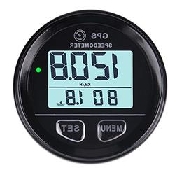 Searon Backlight Digital GPS Speedometer Counter High Speed