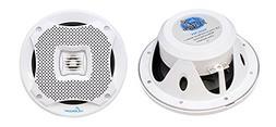 Lanzar 5.25 Inch Marine Speakers - 2 Way Water Resistant Aud