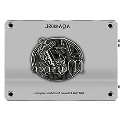 Lanzar AQA430SL 1600-Watt 4-Channel Mini Mosfet Marine Ampli