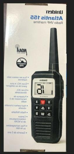 Uniden Atlantis155 Handheld VHF Marine Radio Big screen comp