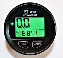Backlight Digital Mini 60mm GPS Speedometer Speed Meter Coun