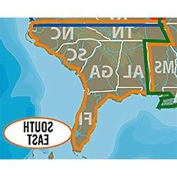 C-MAP LAKE INSIGHT HD – SOUTH EAST US - Coverage Area: AL,