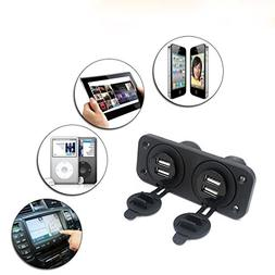 Quaanti Car charger,Universal 12V Car Boat Accessory Socket