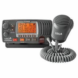 Cobra MRF77B GPS VHF Class-D Marine Boating Radio NOAA Weath