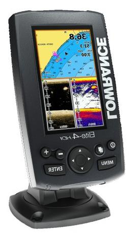 Lowrance ELITE-4 HDI Combo Plotter/Fishfinder without Transd