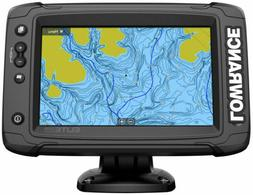 Lowrance Elite-7 Ti2 7 in. Fishfinder WITH Totalscan Transdu