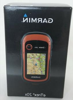 Garmin eTrex 20x Handheld GPS Navigator - Mountable, Portabl