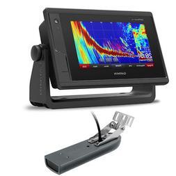 Garmin GPSMAP 742xs Touchscreen GPS Fishfinder Combo w/ CV23