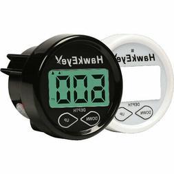 Hawkeye In-Dash Digital Depth Sounder with shoot thru / Tran