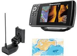 Humminbird Helix 7 SI CHIRP MEGA G3 GPS Fishfinder & Transdu