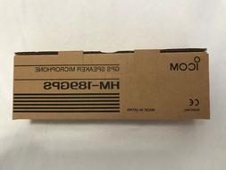 Icom HM-189GPS GPS Speaker microphone for Icom IC-80AD radio