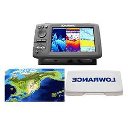Lowrance Hook-7 Nautic Insight Sonar/GPS Mid/High/Downscan N