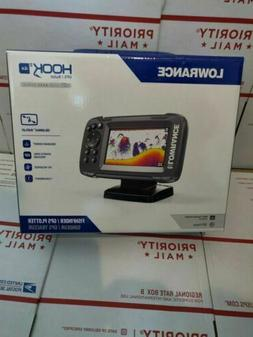 "Lowrance HOOK2-4x 4"" Fishfinder with Bullet Transducer and G"