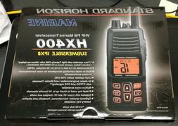 Standard Horizon HX400 Submersible Handheld VHF Marine Radio