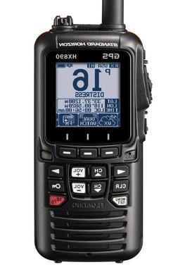Standard Horizon HX870 Floating 6W Handheld VHF Radio with I