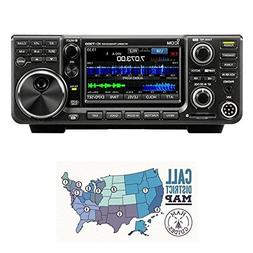 Icom IC-7300 HF/50 MHz Base Transceiver with Touch Screen Co