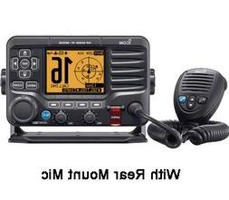 Icom M506 VHF Fixed Mount w/Rear Mic & NMEA 0183/2000® - Bl