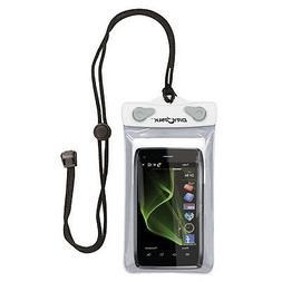 KWIK TEK DRY PAK CELL PHONE, GPS, MP3 CASE 4x6 WHITE/GRAY DP