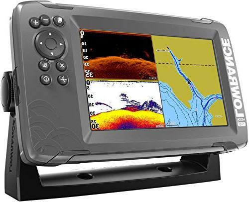 Lowrance 7-inch Finder SplitShot Transducer Inland Maps …