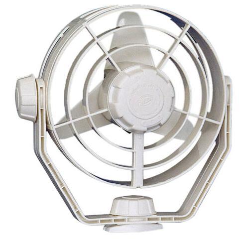 2 speed turbo fan 12v white