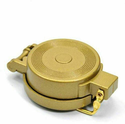 2020 Style Hiking Lensatic Lens Compass Golden