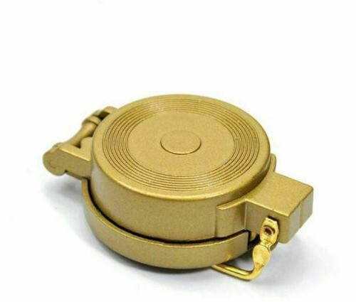 2020 Style Hiking Camping Compass Golden Creative