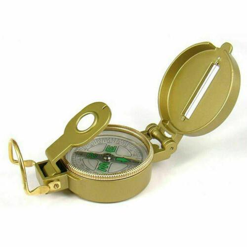 2020 Military Style Hiking Camping Lensatic Compass Creative