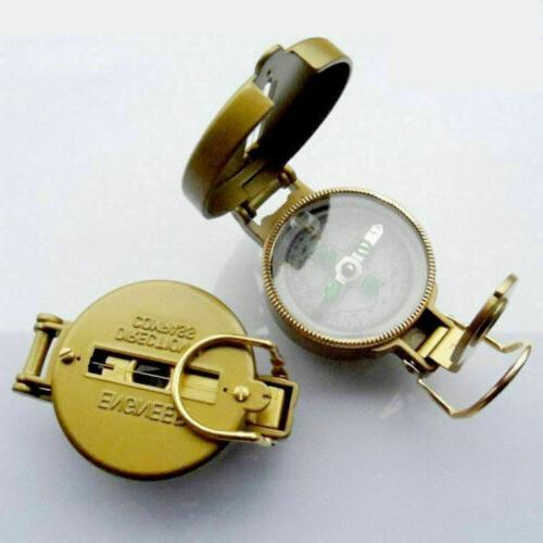 2020 Hiking Lens Compass Golden Creative