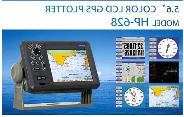 "5.7"" GPS Plotter Navigator Max SD Card"