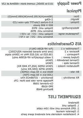 """8"""" Class B AIS Transponder & receiver /map"""