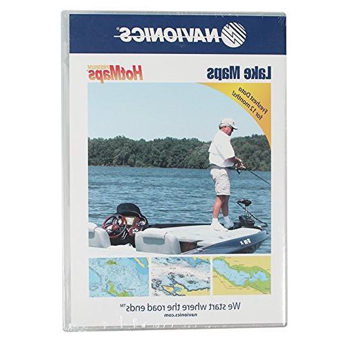 Navionics HotMaps Premium Canada Two-Dimensional Lake Maps o