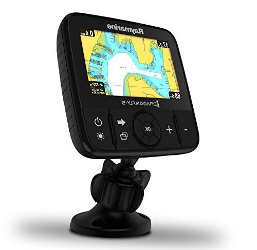 Raymarine CHIRP Fish Finder in GPS with Navionics+ Transducer