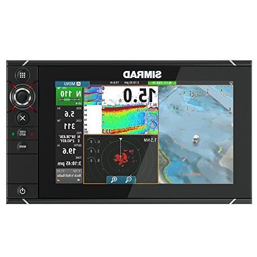 Simrad NSS12 evo2 Combo Multifunction Display Insight 000-11