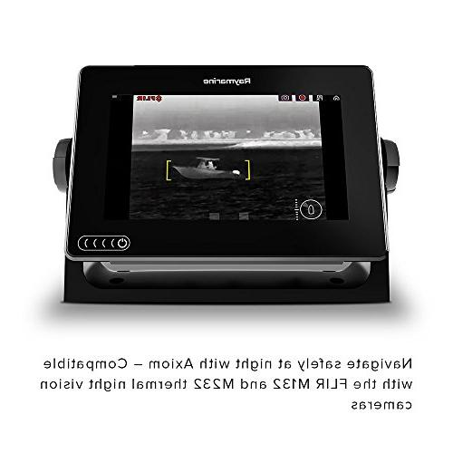 Raymarine Finder with Built in GPS, and RealVision Transducer and