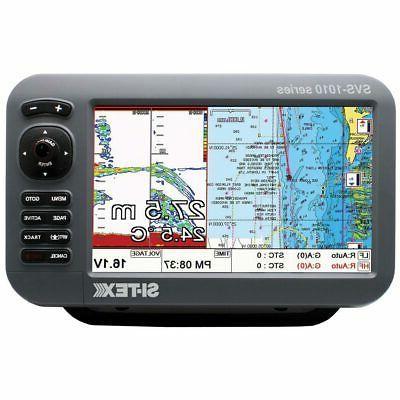 "10"" Chartplotter/Sounder Combo w/Internal GPS Antenna & Navi"