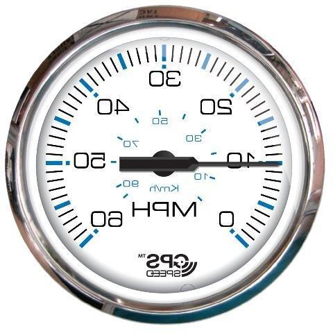 chesapeake white ss gps speedometer