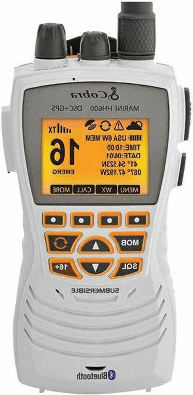 Gps Marine Radio, Handheld, Floatin