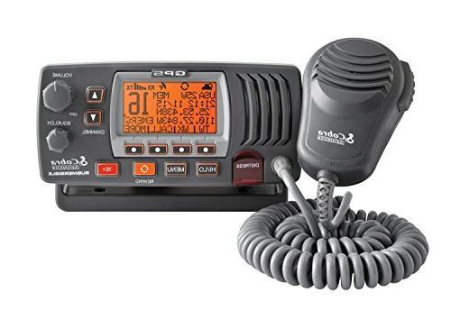Cobra MR F77B GPS   Marine Radio, 2-Way Submersible Long Ran
